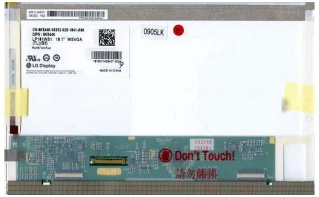 """8,9"""" (разр: 1024x600) LG-Philips ™ LP089WS1 40pin глянцевая LED"""